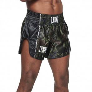 Pantaloncini kick-thai Leone Camo AB961 verde 2