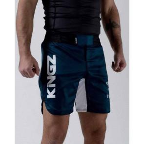 Pantaloncini No-Gi Kingz Born to Rule Blu