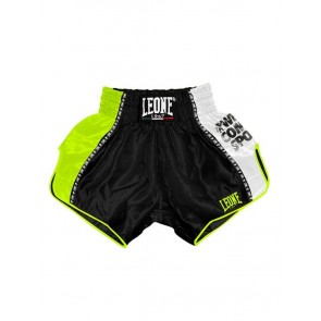 Pantaloncini da thai-kick Leone Training AB760 Nero