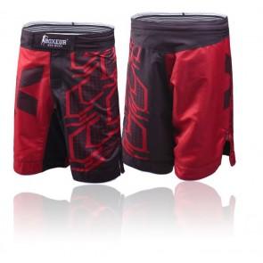 Pantaloncini da MMA Boxeur Des Rues Advance BXT-1622 Rosso