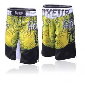 Pantaloncini da MMA Boxeur Des Rues Cross 2.0 BXT-1624 Giallo