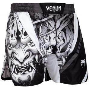Pantaloncini MMA Venum Devil bianchi-neri