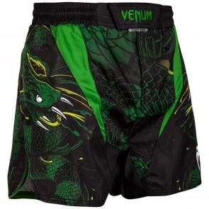 Pantaloncini MMA Venum Green Viper nero-verde