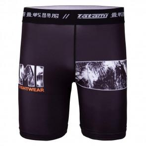 Pantaloncini a compressione Tatami Fightwear Tropical - davanti