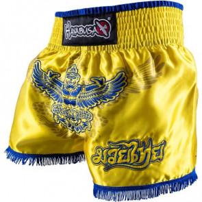 Pantaloncini da muay thai Hayabusa Garuda Giallo
