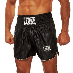Pantaloncini da thai-kick Leone Basic AB766 Nero