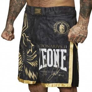 Pantaloncini MMA Leone Legionarius AB790 nero fronte