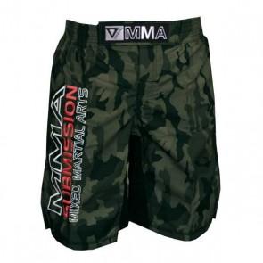 Pantaloncini da MMA con scritta Vandal Submission Camouflage