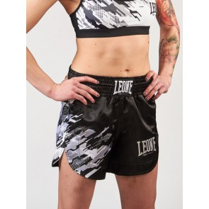 Pantaloncini donna kick-thai Leone Neo Camo AB803