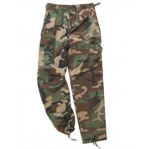 Pantaloni BDU Style Ranger Field Camo verde