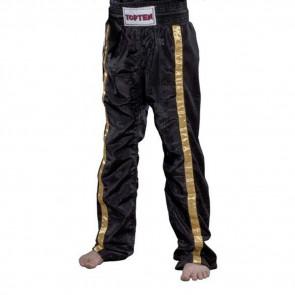 Pantaloni Kick boxing Top Ten Mesh Star Collection Nero
