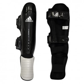 Paratibia con parapiede Adidas Super Pro Bianco