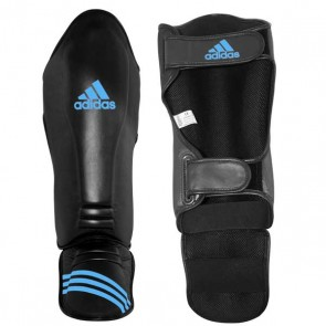Paratibie con Parapiede Adidas Speed Super Pro Black - Solar