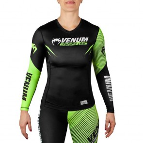 Rashguard donna Venum Training Camp 2.0 maniche lunghe