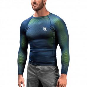 Rashguard Hayabusa Fusion maniche lunghe Blue-green
