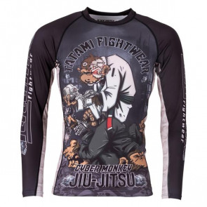 Rashguard Tatami Fightwear Cyber Thinker Monkey