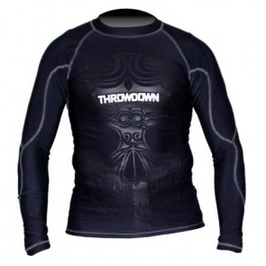 Rashguard a maniche lunghe Throwdown Voodoo