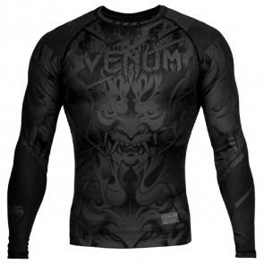 Rashguard Venum Devil maniche lunghe Nero-Nero