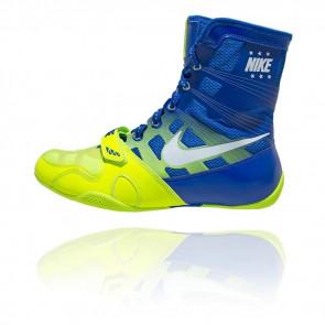 Stivaletti da boxe Nike Hyperko Blu-Giallo
