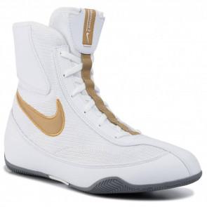 Scarpe da Boxe Nike Machomai Bianco-Oro