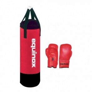 Set Boxe Equinox Junior Pro (sacco + guanti)