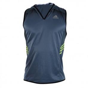 T-shirt smanicata con cappuccio Adidas Signature