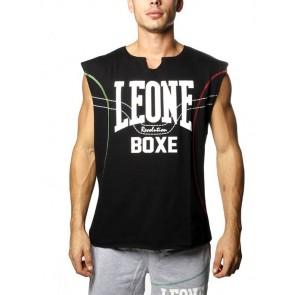 T-shirt smanicata Leone LSM1241 Nero