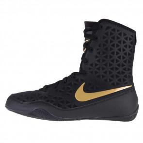 Stivaletti da boxe Nike KO Nero-Oro
