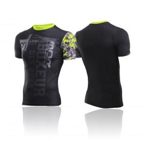 T-shirt Boxeur Des Rues BXT-2840 Giallo