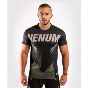 T-shirt Venum ONE FC Impact Dry Tech Khaki-nero