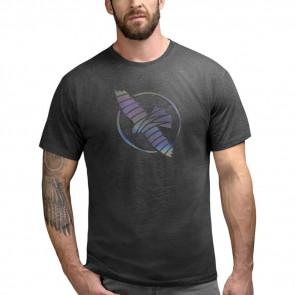T-shirt Hayabusa Iridescent Falcon Nero - Visione Anteriore