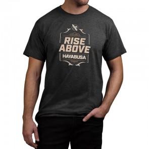 T-shirt Hayabusa Rise Above nera