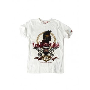 T-shirt in cotone Leone Sakara Legio03