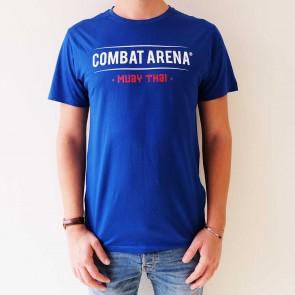 T-shirt Muay Thai Combat Arena Blu