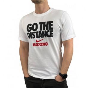 T-shirt Nike Training Go The Distance BXGD Bianco