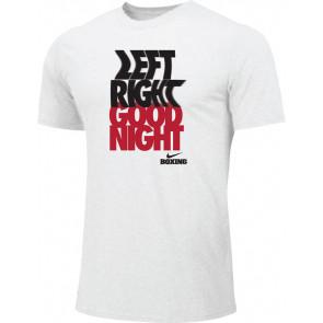 T-shirt Nike Training Left Right BXLR - bianco