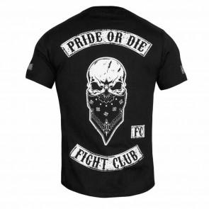 T-shirt Pride or Die Fight Club - Dietro