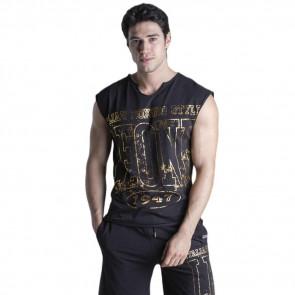 T-shirt smanicata Leone Gold