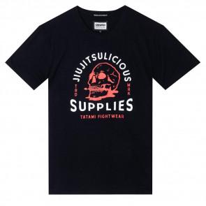 T-shirt Tatami Fightwear Jiujitsulicious Organic - Nero