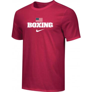 T-shirt Nike Training Boxing US BXUS rosso