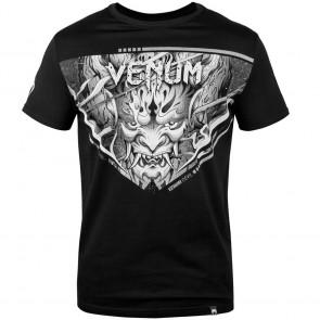T-shirt Venum Devil nera-bianca