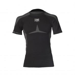 T-shirt a compressione Leone ABX12 Seamless Extrema Nero