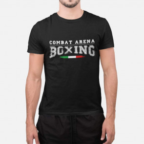 T-shirt Combat Arena Boxing - nera