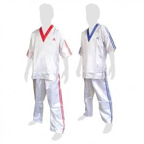 Uniforme da kick boxing Adidas Bianca