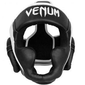 Casco Venum Elite nero-bianco