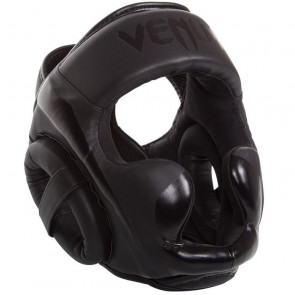 Casco Venum Elite nero-nero