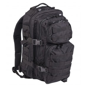 Zaino Nero US Assault Large Mil-Tec