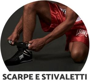 Scarpe Stivaletti Boxe Leone 1947