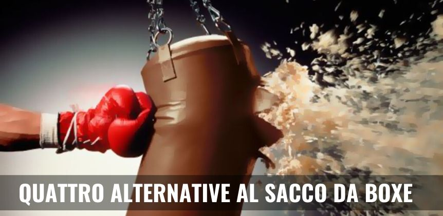 alternative al sacco da boxe