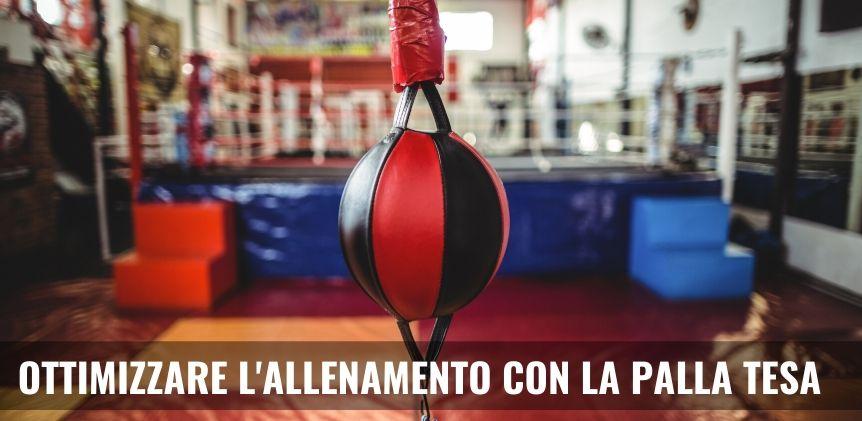 palla tesa boxe